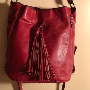 Patricia Nash red crossbody bag